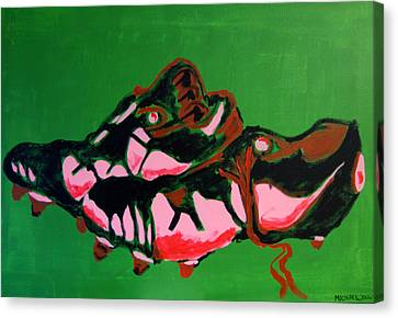 Boots Canvas Print by Michael Ringwalt