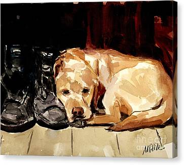 Boots Canvas Print by Molly Poole