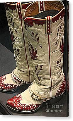 Canvas Print - Boots by Paulette Thomas