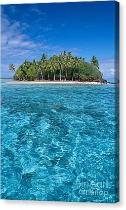Bora Bora, Motu Canvas Print by Joe Carini - Printscapes