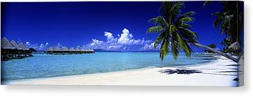 Bora Bora South Pacific Canvas Print by Panoramic Images