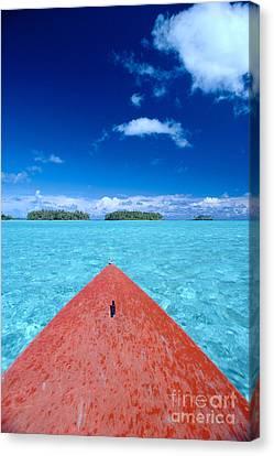 Bora Bora, View Canvas Print by William Waterfall - Printscapes