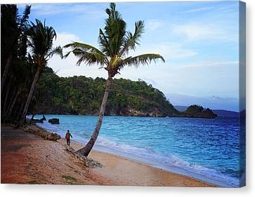 Boracay Philippians Canvas Print by Mark Ashkenazi