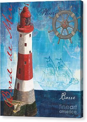 Bord De Mer Canvas Print by Debbie DeWitt