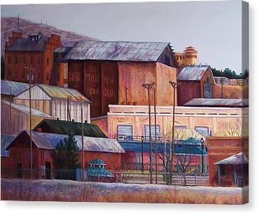 Borderland Mills Canvas Print by Candy Mayer