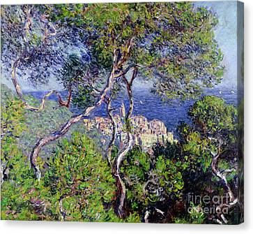 Warm Canvas Print - Bordighera by Claude Monet