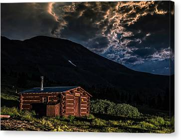 Boreas Pass Cabin Canvas Print by Michael J Bauer