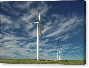 Borger Turbines Canvas Print