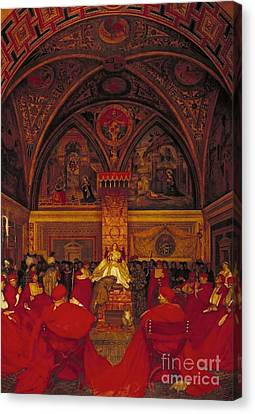 Borgia Reigns In The Vatican Canvas Print by MotionAge Designs