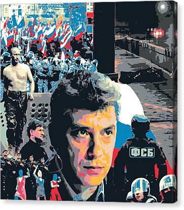 Boris Nemtsov Canvas Print