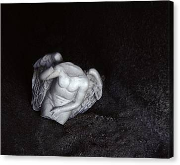 Borken Angel Canvas Print by Ann Tracy