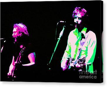 Grateful Dead - Born Cross Eyed Canvas Print by Susan Carella
