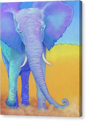 Born Of Wisdom Canvas Print by Tracy L Teeter