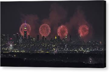Born On The 4th Of July Canvas Print by Eduard Moldoveanu
