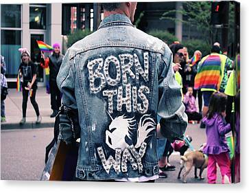Born This Way Canvas Print by Livi Saunders