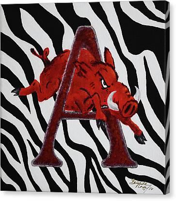 Born To Be Wild Canvas Print by Belinda Nagy