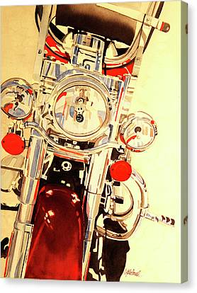 Born To Be Wild Canvas Print by Cynthia Powell