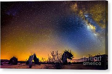 Borrego Springs Dragon Canvas Print