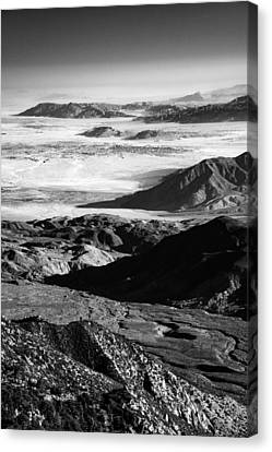 Canvas Print featuring the photograph Borrego Valley II by Alexander Kunz