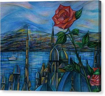 Bosphorus Melody Canvas Print by Anna Duyunova