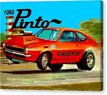 Boss Ford Pinto Wonder Pony Canvas Print