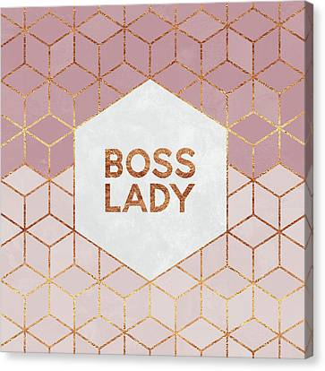 Boss Lady Canvas Print by Elisabeth Fredriksson