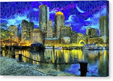 Boston 1 Canvas Print by Caito Junqueira