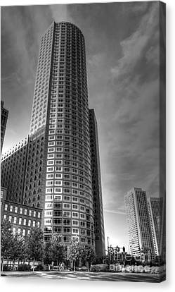 Canvas Print featuring the photograph Boston by Adrian LaRoque