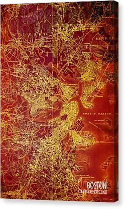 Boston Antique Canvas Print
