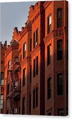 Boston Architecture - Back Bay Canvas Print