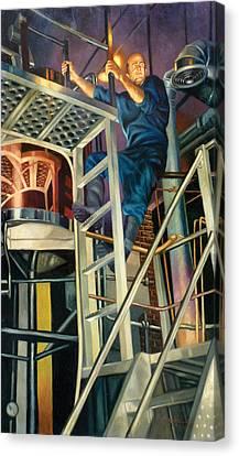 Boston Brew Canvas Print by Gregg Hinlicky