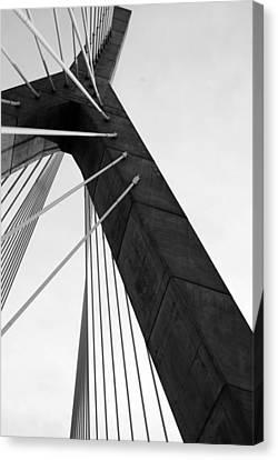 Boston Bridge  Canvas Print by Maria Lopez