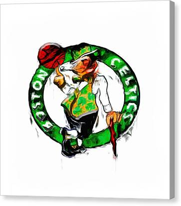 Boston Celtics 2b Canvas Print