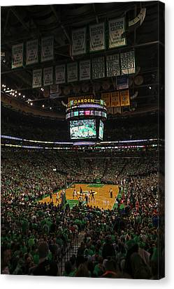 Boston Celts Canvas Print by Juergen Roth