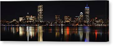Boston Charles River Panorama 8x24 Ratio Canvas Print by Toby McGuire
