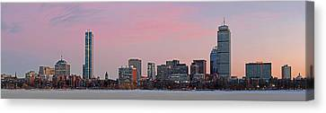 Charles River Canvas Print - Boston Dawn by Juergen Roth