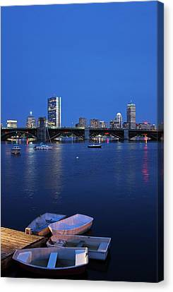 Boston Dinghies Canvas Print by Juergen Roth