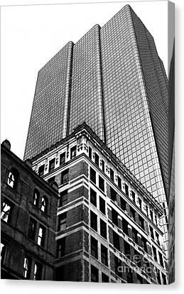 Boston Generations Canvas Print by John Rizzuto