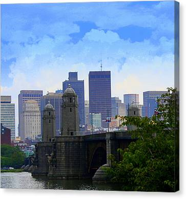 Boston  Canvas Print by Julie Lueders