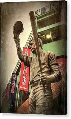 Boston Red Sox - Carl Yastrzemski Canvas Print by Joann Vitali
