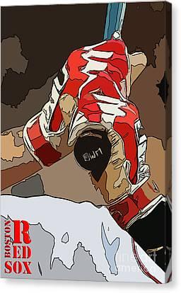 Boston Rex Sox Bat Canvas Print