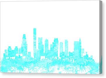 Boston Skyline 1b Canvas Print