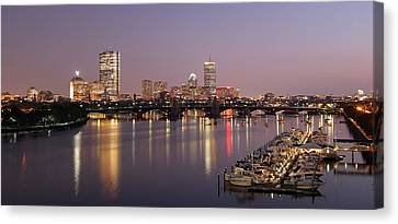 Boston Skyline Photography Canvas Print by Juergen Roth