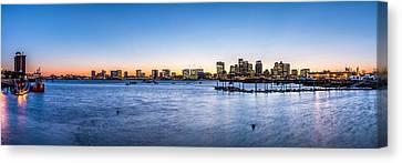 Boston Skyline Canvas Print by Tim Sullivan