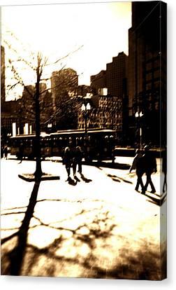 Boston Streetcar Canvas Print