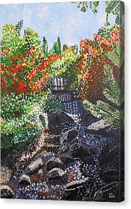Botanic Garden Merano 1 Canvas Print