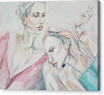Aging Canvas Print - Both Sides Now by Christel  Roelandt