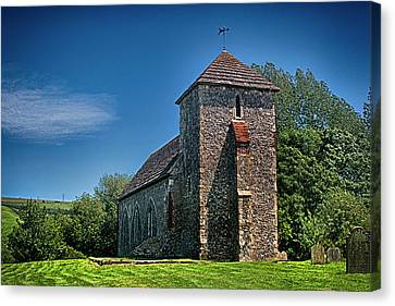 St Botolph St Canvas Print - Botolphs Church by Dave Godden