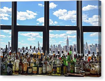 Bottle Skyline  Canvas Print by Kennard Reeves