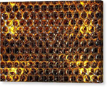 Bottles Of Beer On The Wall Canvas Print